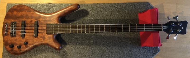 Warwick bass guitar