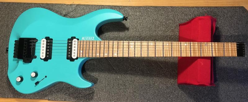 kiesel headless electric guitar