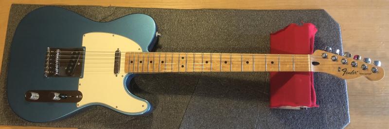 Fender Telecaster Mexican Custom Build
