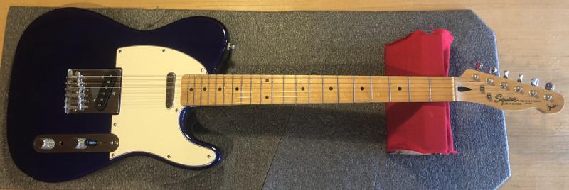 Fender Telecaster Squire Custom Build