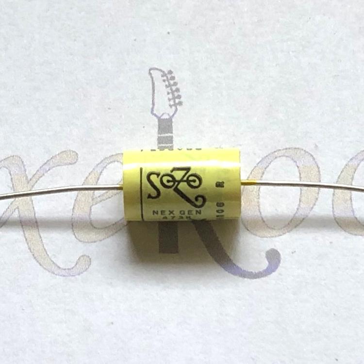SoZo Next Gen Mustard Tone Capacitors
