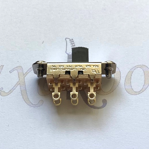 Switchcraft 2 Position Slide Switch