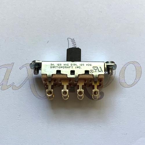 Switchcraft 3 Position Slide Switch