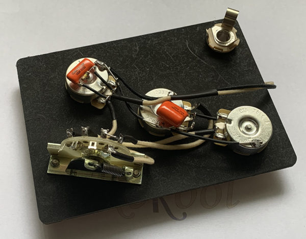 Stratocaster Vintage Wiring Harness 5-way Switch with Treble Bleed