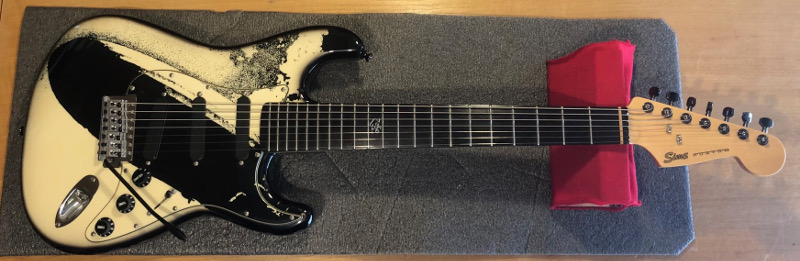 Sims Stratocaster 7 string