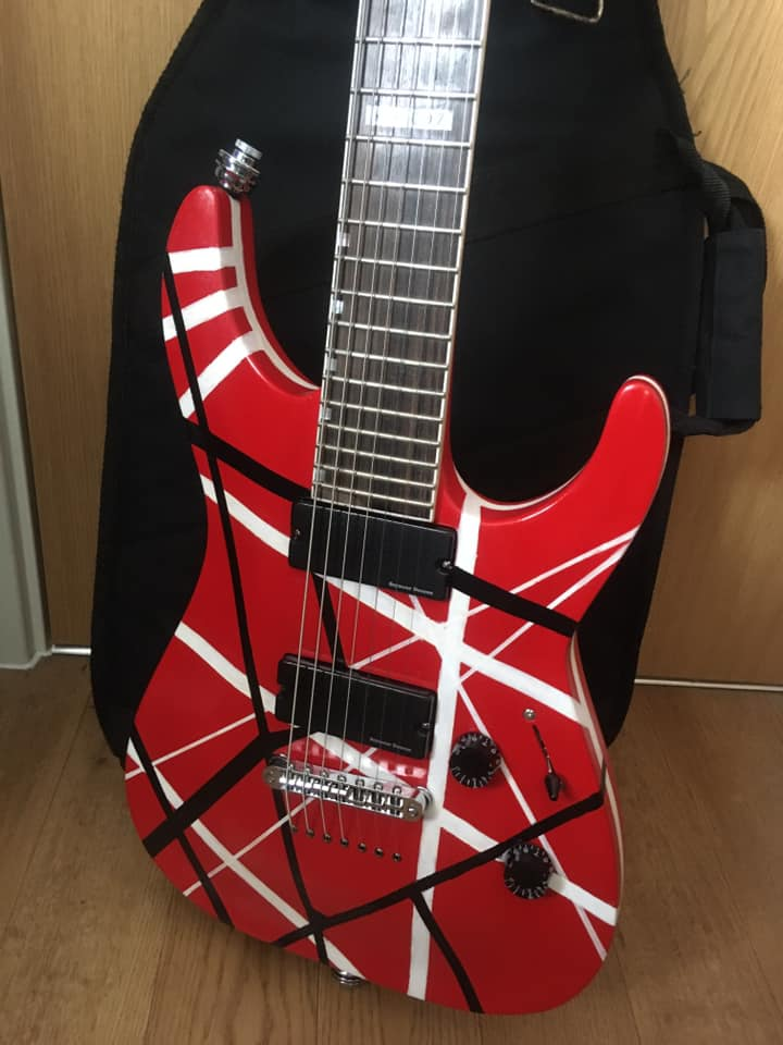EVH Guitar Build Project axekool Guitars