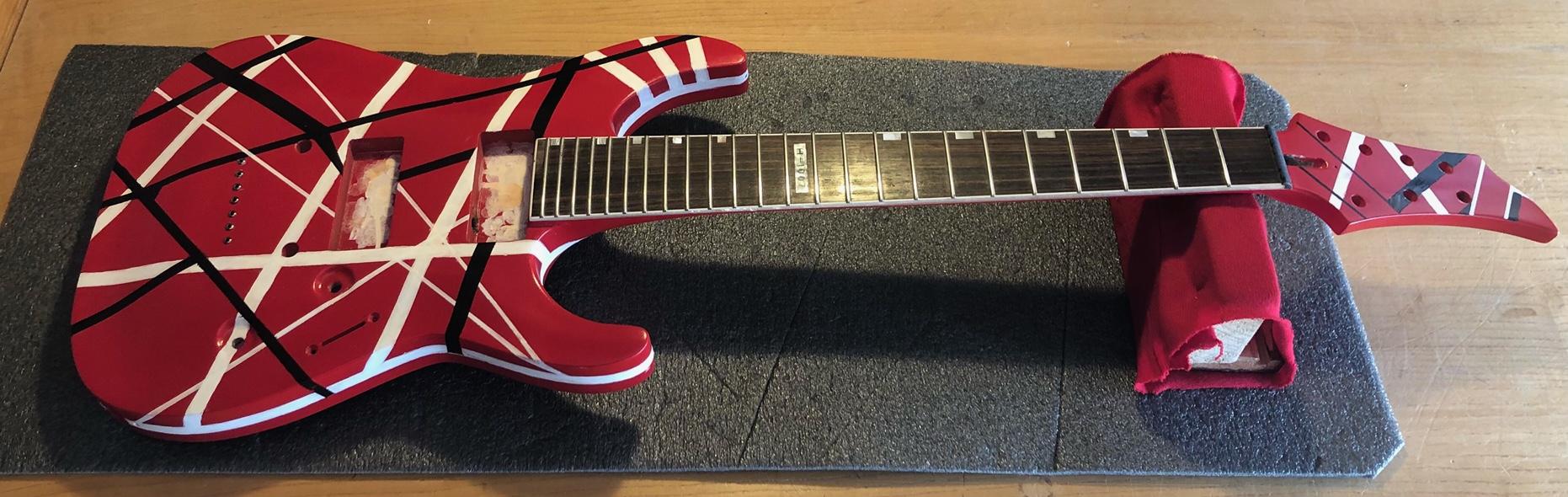 EVH Guitar Build Project