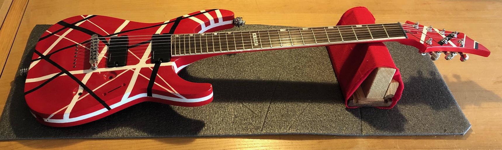 EVH Guitar Project Build